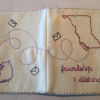 Thumbnail image for embroidered memory / address book
