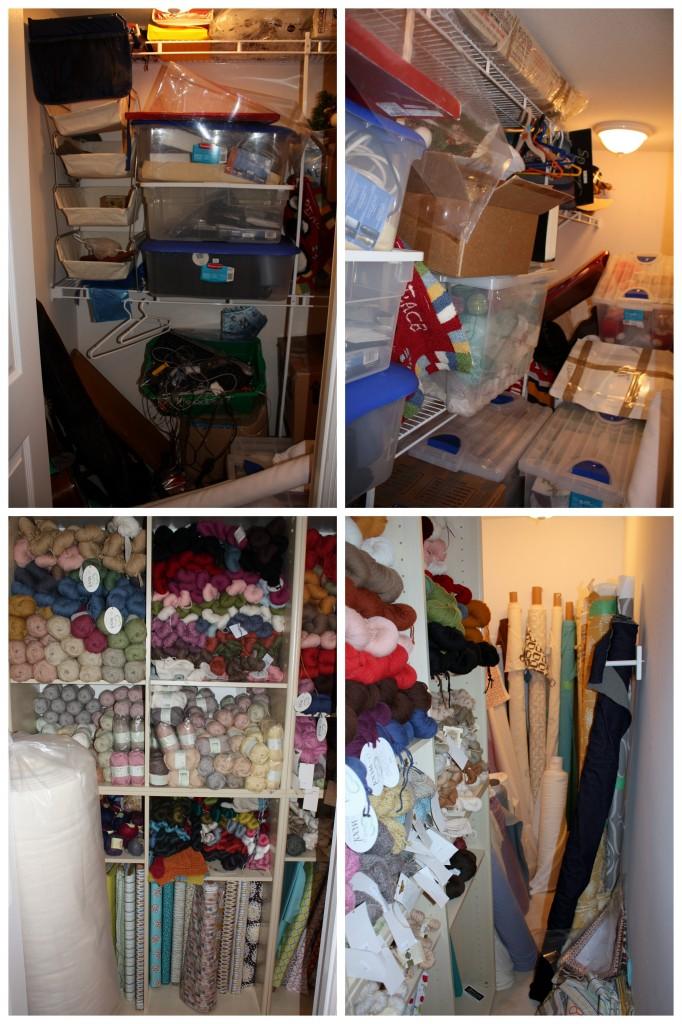man cave junk closet to store inventory hub
