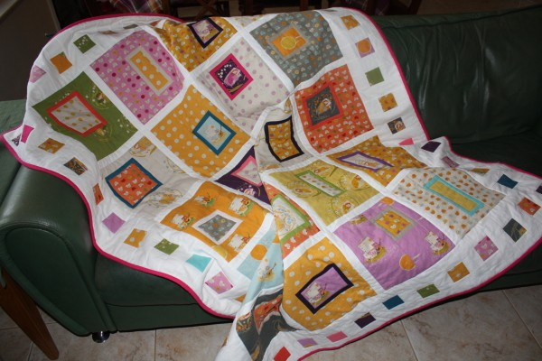 sleeping beauty quilt for ava