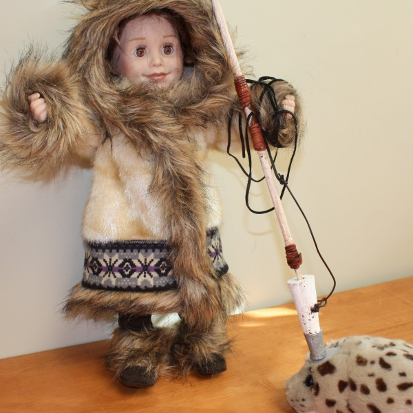 Post image for inuit parka for 18″ doll