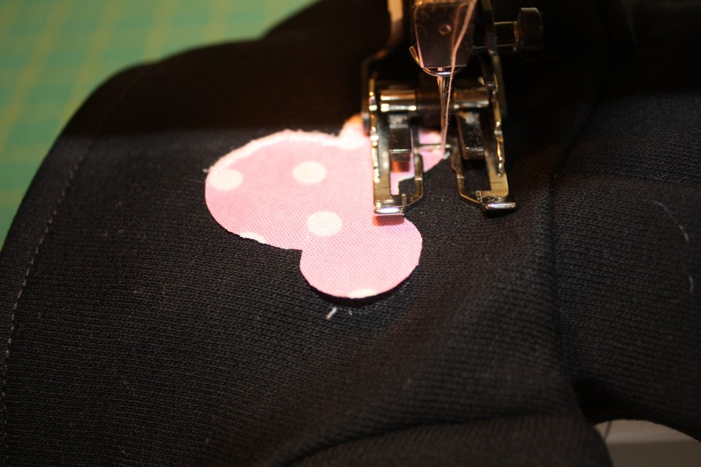 satin stitch applique