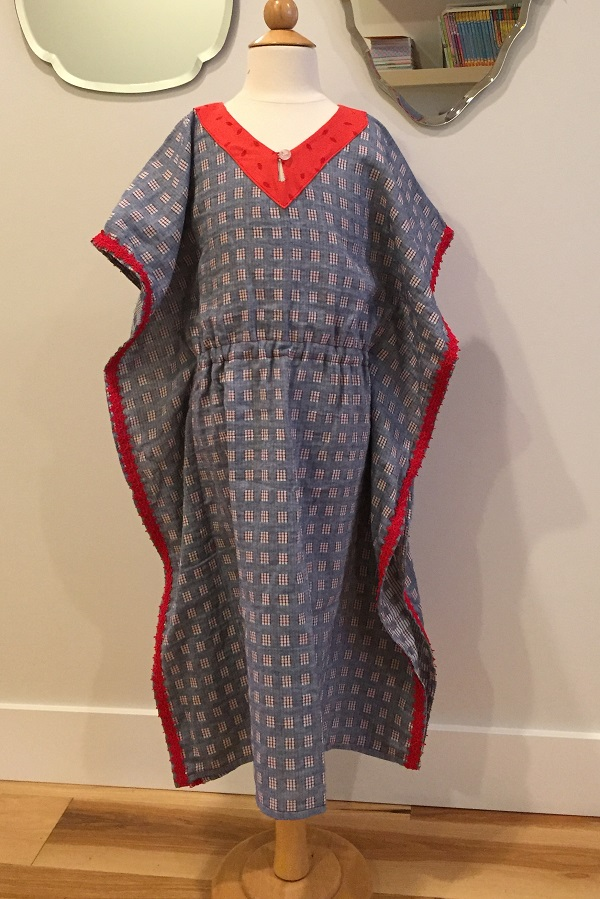 g caftan cover up front
